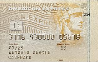 BDO American Express Cash Back Contactless