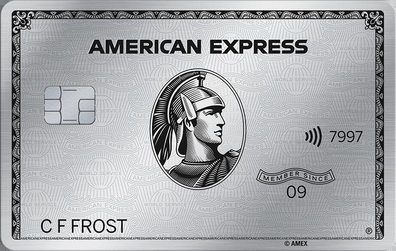 AMEX Platinum Card Contactless
