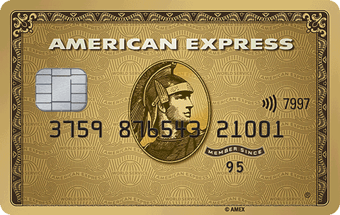 American Express Gold Card contactless