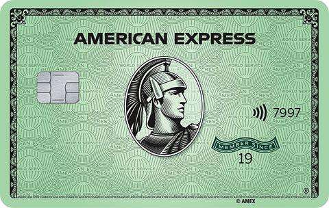 American Express Green Card Contactless