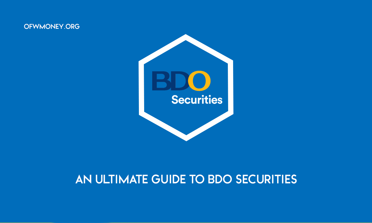 An Ultimate Guide to BDO Securities Open an Account Add Money and Withdrawal