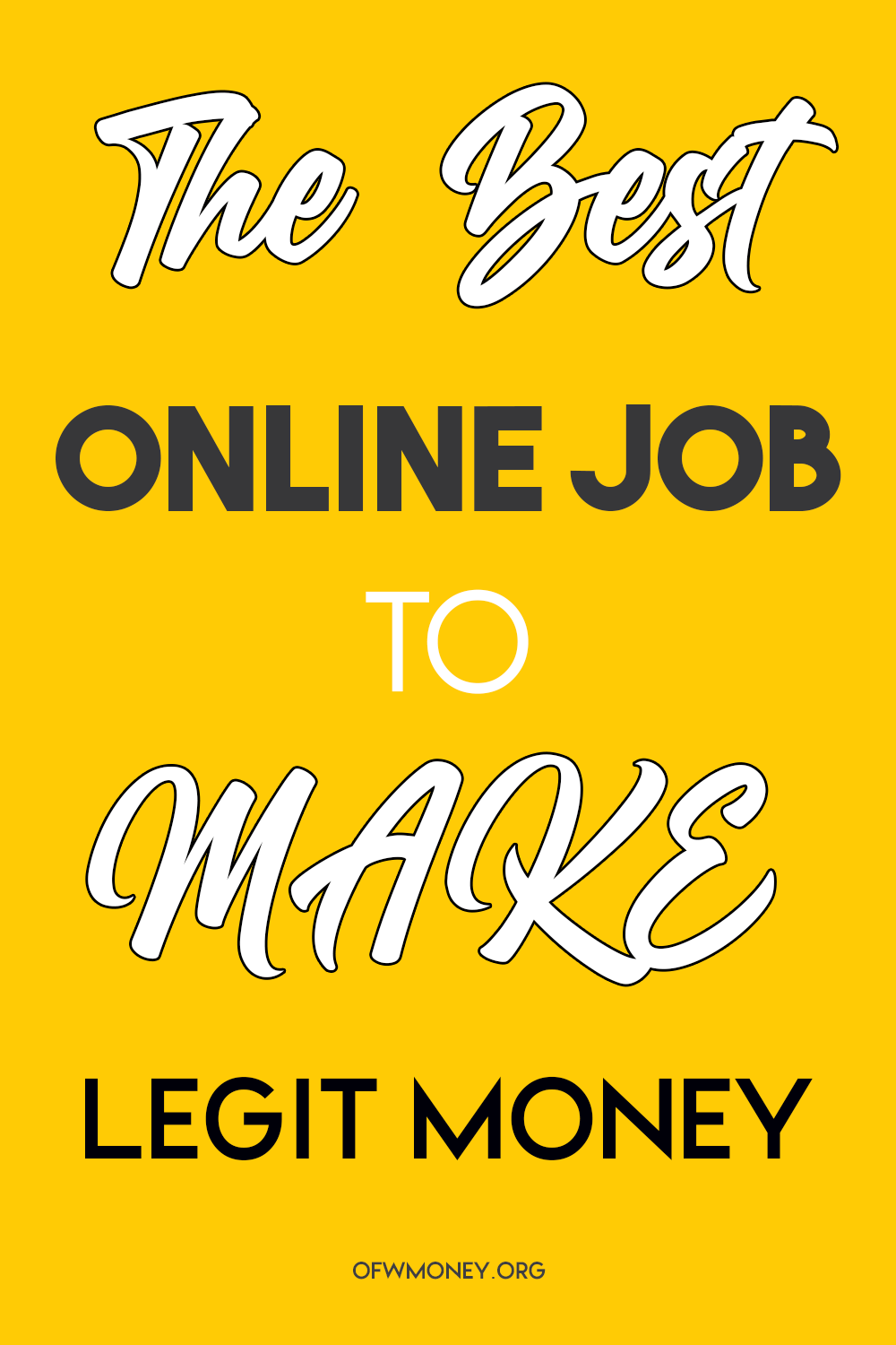 Best Online Jobs From Home To Make Money