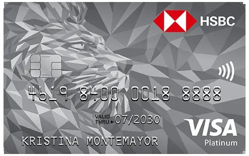 HSBC Platinum Visa Contactless