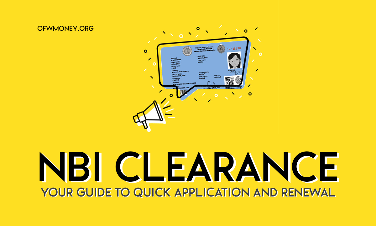 How To Apply For An NBI Clearance