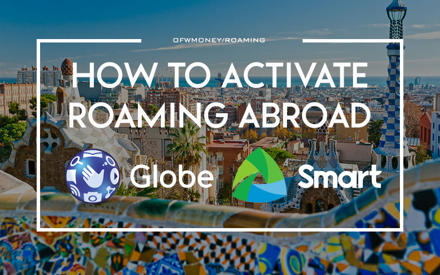 How to activate and load sim roaming smart and globe