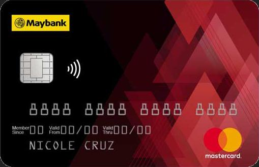 Maybank Credit Card Contactless
