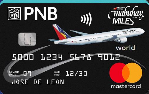 PNB-Mabuhay-Miles-World-Mastercard-Contactless