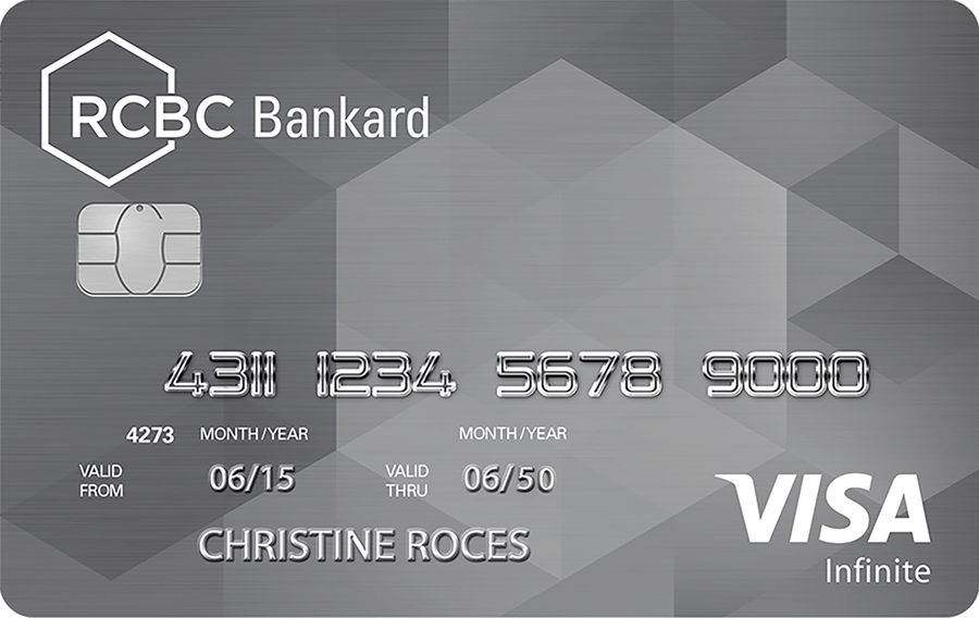 RCBC Bankard Visa Infinite Card
