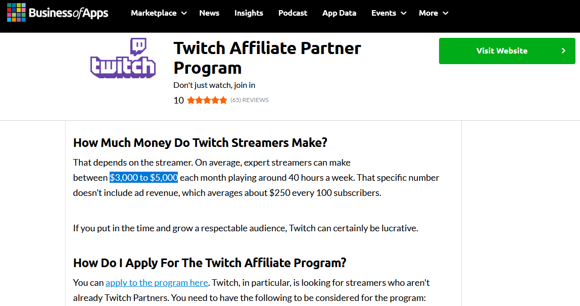 Become a streamer using Twitch Earnings