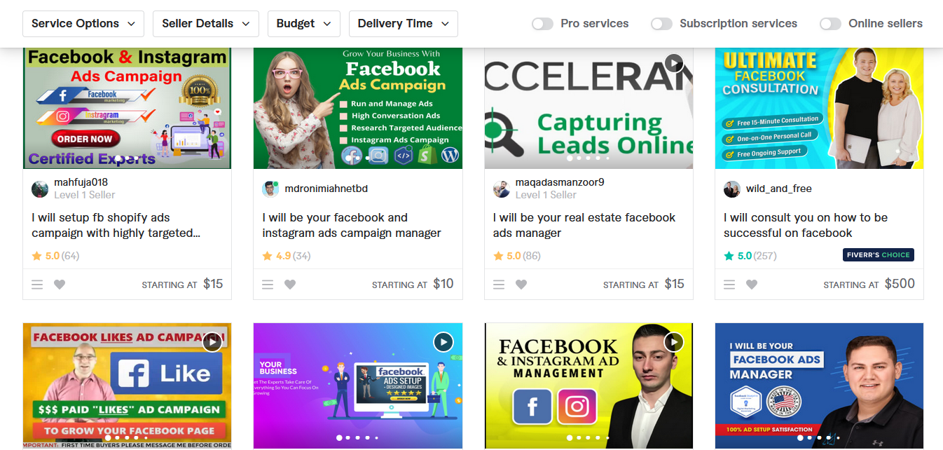 Offer advertising space for sale on Fiverr